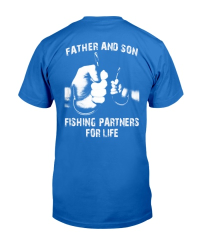 Fishing partners - Papa - father - son