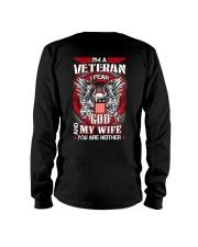 I am a Veteran - I fear God and My Wife Long Sleeve Tee thumbnail