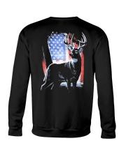 I Live Hunting - Usa Crewneck Sweatshirt thumbnail