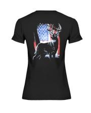 I Live Hunting - Usa Premium Fit Ladies Tee thumbnail