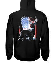 I Live Hunting - Usa Hooded Sweatshirt thumbnail