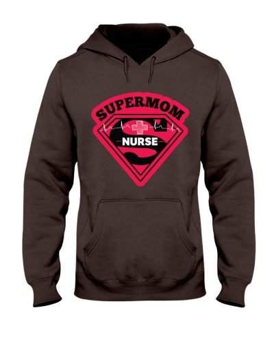 nURSING sUPER mom T SHIRT AND Mask