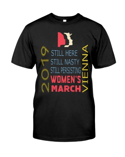 WOMEN MARCH STILL HERE 2019 T SHIRT