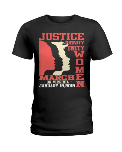 Justice Women On Virginia t shirt