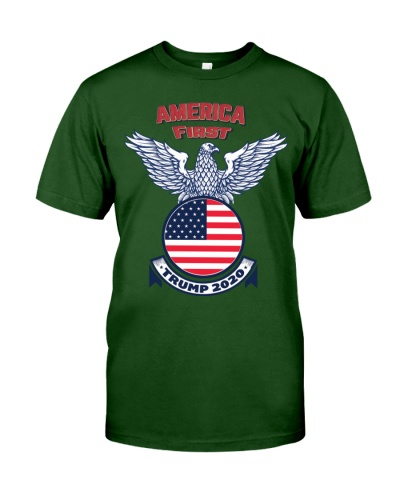 America First Trump 2020 man and women t shirt Us