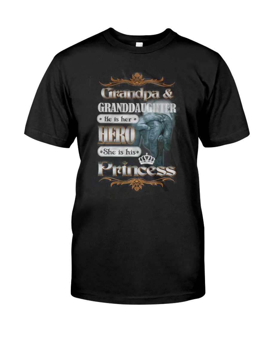 Limited Edtion - Grandpa and grandaughter Classic T-Shirt