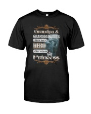 Limited Edtion - Grandpa and grandaughter Classic T-Shirt front
