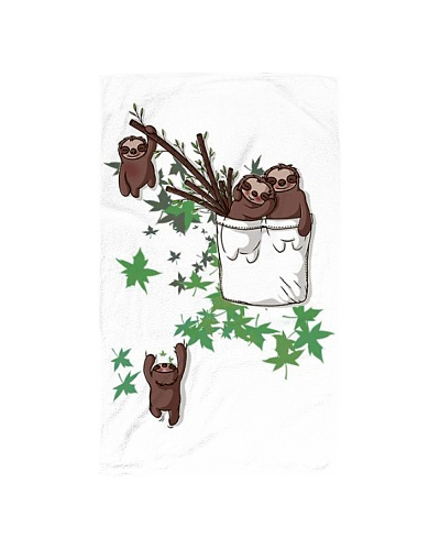 Sloth Hand Towel