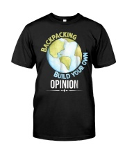 Backpacking T Shirt Gift Idea For Men Woman Love T Classic T-Shirt thumbnail