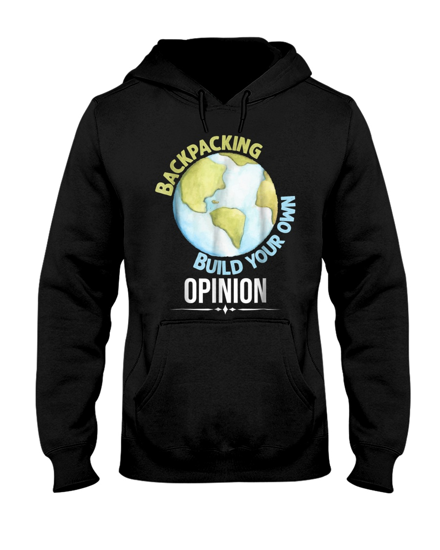 Backpacking T Shirt Gift Idea For Men Woman Love T Hooded Sweatshirt