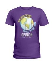 Backpacking T Shirt Gift Idea For Men Woman Love T Ladies T-Shirt thumbnail