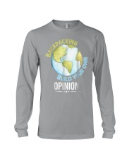 Backpacking T Shirt Gift Idea For Men Woman Love T Long Sleeve Tee thumbnail