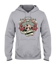 I DEY WAIT FOR AMAKA Hooded Sweatshirt front