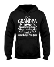 Grandpa Knows Everything 4Rt1k Funny T-shirt Hooded Sweatshirt tile