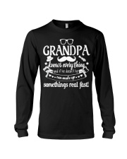 Grandpa Knows Everything 4Rt1k Funny T-shirt Long Sleeve Tee thumbnail