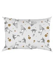 Santa Cookies Rectangular Pillowcase front