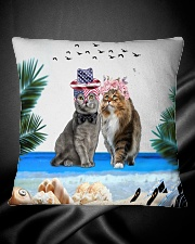 cat pilliow Square Pillowcase aos-pillow-square-front-lifestyle-34