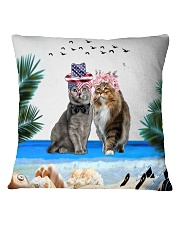 cat pilliow Square Pillowcase front