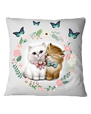 cat pillow Square Pillowcase front