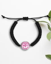 respiratory Cord Circle Bracelet Cord Circle Bracelet aos-bracelet-cord-front-lifestyle-7