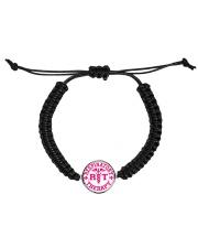 respiratory Cord Circle Bracelet Cord Circle Bracelet front