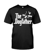 THE DOGFATHER T-Shirt Classic T-Shirt front