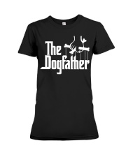 THE DOGFATHER T-Shirt Premium Fit Ladies Tee thumbnail