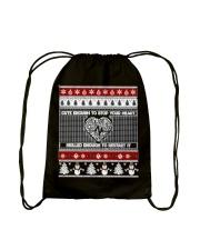 Custom Drawstring Bag Drawstring Bag back