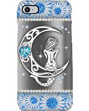 Mermaid Metal Pattern Print  Phone Case i-phone-8-case