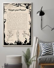 Forget your phone 11x17 Poster lifestyle-poster-1