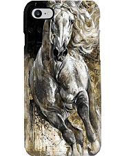 White horse Phone Case i-phone-8-case