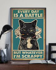 Every day is a battle 11x17 Poster lifestyle-poster-2