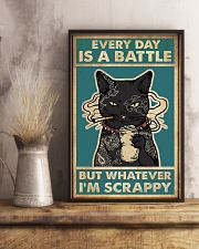 Every day is a battle 11x17 Poster lifestyle-poster-3