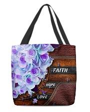Faith hope love All-over Tote back