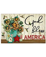 God bless America Independence day 17x11 Poster front