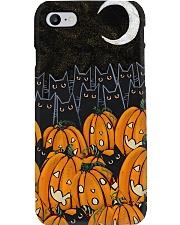 Black cats Halloween night Phone Case i-phone-8-case