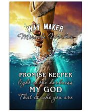 Way maker 11x17 Poster front
