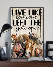 Live like someone left the gate open 11x17 Poster lifestyle-poster-2
