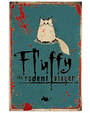 Fluffy Halloween 11x17 Poster front