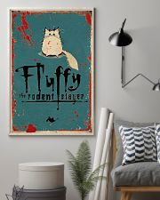 Fluffy Halloween 11x17 Poster lifestyle-poster-1