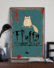 Fluffy Halloween 11x17 Poster lifestyle-poster-2
