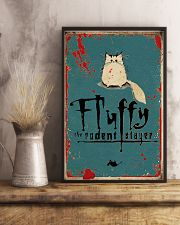 Fluffy Halloween 11x17 Poster lifestyle-poster-3