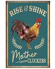 Rise and shine 11x17 Poster front