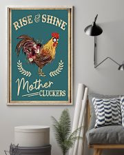 Rise and shine 11x17 Poster lifestyle-poster-1
