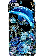 Love dolphins Phone Case i-phone-8-case