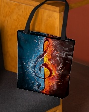Fire water G-clef All-over Tote aos-all-over-tote-lifestyle-front-02