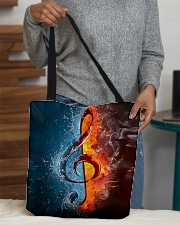 Fire water G-clef All-over Tote aos-all-over-tote-lifestyle-front-10