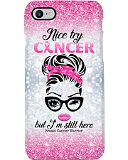 Nice try cancer Phone Case i-phone-8-case