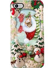 Winter Cat Phone Case i-phone-8-case