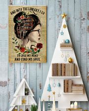 And into the library I go to lose my mind 11x17 Poster lifestyle-holiday-poster-2